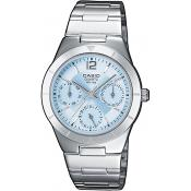 Casio - Montre Casio Collection LTP-2069D-2AVEF - Montre Femme Acier