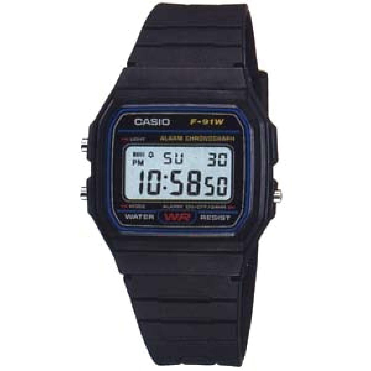 Montre Casio Résine Casio Collection F-91W-1YER - Homme