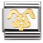 Charm Nomination Animaux 030112-18 - Charm Lapin Mixte