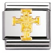 Charm Nomination Relief 030122-26 - Charm Christ De Cimabue Mixte