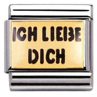 Charm Nomination Messages 030261-04 - Charm Ich Liebe Dich Mixte
