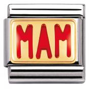 Charm Nomination Messages 030261-24 - Charm Maman Mixte