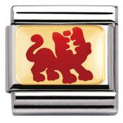 Charm Nomination Chinois 030275-07 - Charm Tigre Rouge Mixte