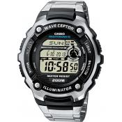 Casio - Montre Casio Waveceptor WV-200DE-1AVER - Montre Casio
