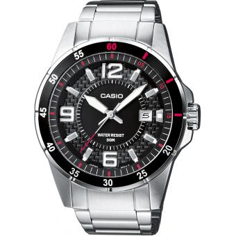 Montre Casio Acier Casio Collection MTP-1291D-1A1VEF - Homme