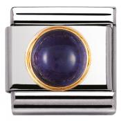 Charm Nomination Rond 030505-04 - Charm Iolite Mixte