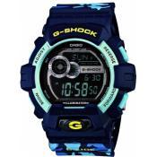 Montre Casio  Résine Bleue Pratique GLS-8900CM-2ER