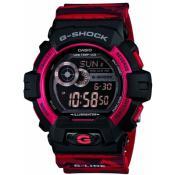 Montre Casio  Résine Rouge Chic GLS-8900CM-4ER
