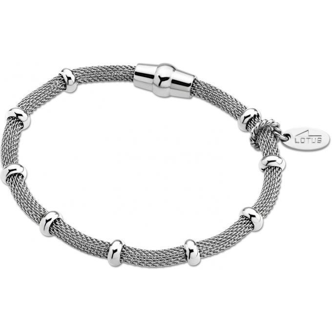 magasin en ligne 59bf4 83423 Bracelet Lotus Style LS1680-2-1 - Bracelet Maillon Argenté Mode