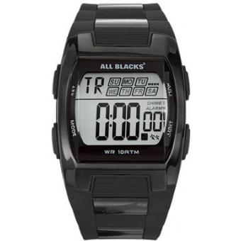 Montre All Blacks 680057 - Montre Rectangulaire Noir Digital Homme
