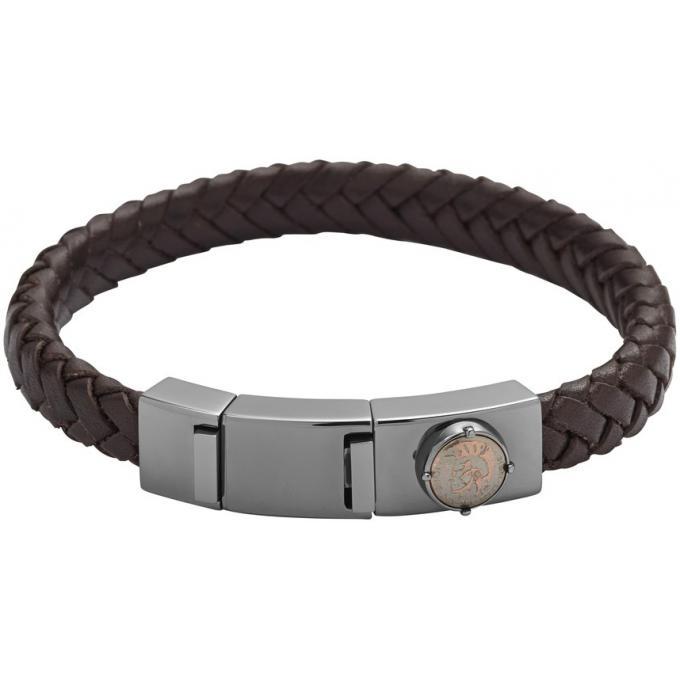 bracelet diesel dx0856060 bracelet cuir marron tresse homme sur bijourama r f rence des. Black Bedroom Furniture Sets. Home Design Ideas
