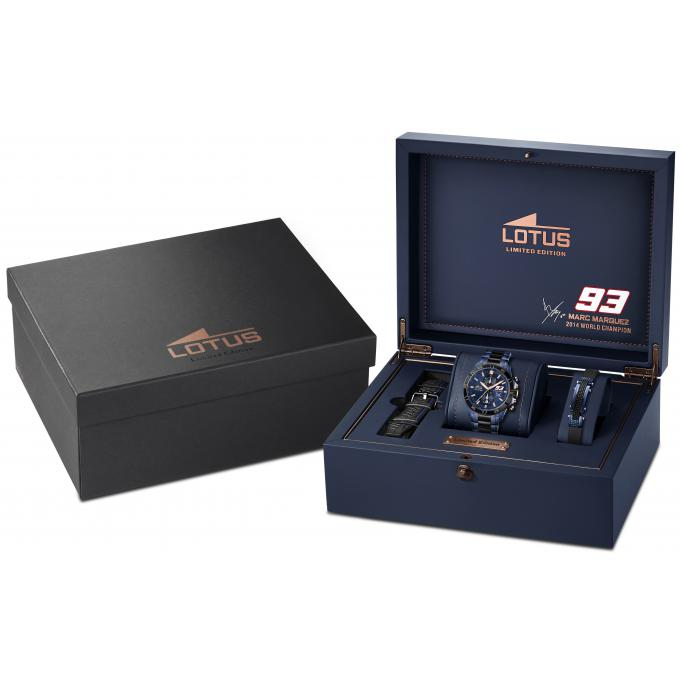 coffret montre lotus l18230 1 coffret montre chrono gp. Black Bedroom Furniture Sets. Home Design Ideas