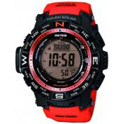 Montre Connectée Casio Ronde Rouge Snooze PRW-3500Y-4ER - Casio