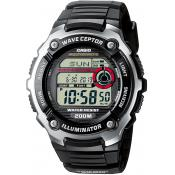 Casio - Montre Casio Waveceptor WV-200E-1AVEF - Montre Radio Pilotée