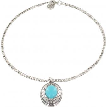 Collier Scooter Mahdia SCG60186044 - Collier Pendant Pierre Turquoise Femme