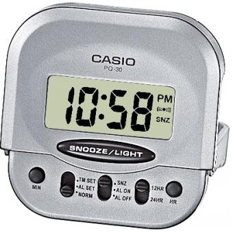 réveil Casio Plastique Casio Collection PQ-30-8EF - Mixte