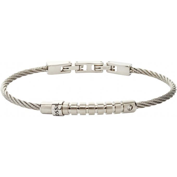 bijoux fossil collier bracelet bague fossil homme femme en acier page 1. Black Bedroom Furniture Sets. Home Design Ideas