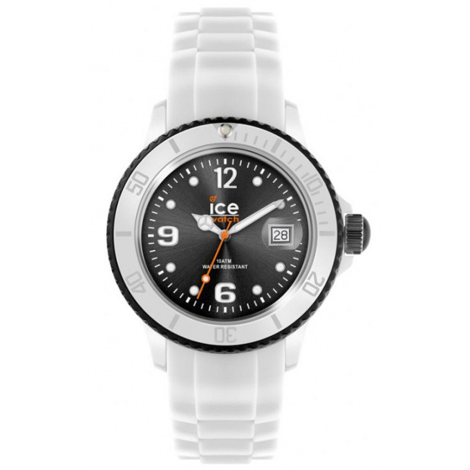 montre ice watch silicone ice white si wk b homme. Black Bedroom Furniture Sets. Home Design Ideas
