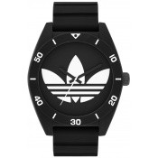 Montre Adidas Originals Noire Blanche Ronde ADH2967