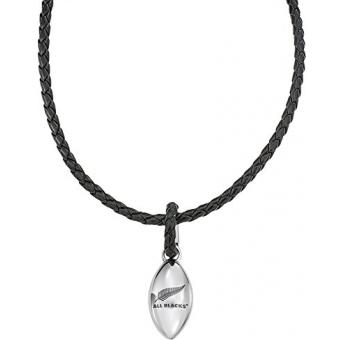 Collier All Blacks 682063 - Collier Noir Acier Homme