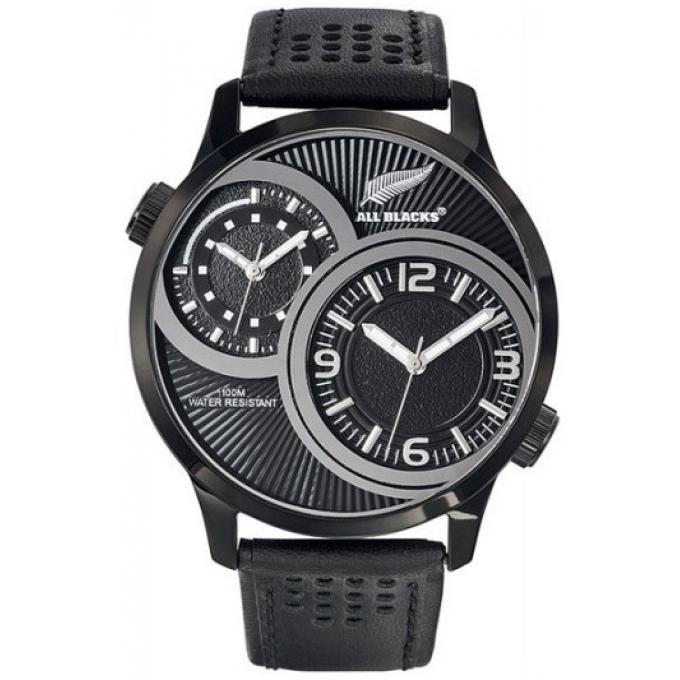 montre all blacks 680266 montre acier cuir homme sur bijourama montre homme pas cher en ligne. Black Bedroom Furniture Sets. Home Design Ideas