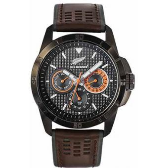 Montre All Blacks 680274 - Montre Marron Calendrier Homme