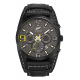 All Blacks Montres - Montre ALL BLACKS 680298 - Montre Chronographe Noire Homme