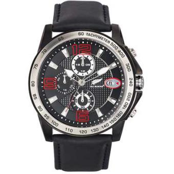 Montre ALL BLACKS 680311 - Montre Quartz Chronographe Homme