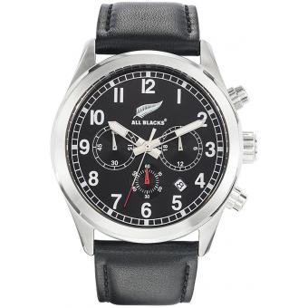 Montre All Blacks 680321 - Montre Cuir Chronographe Homme