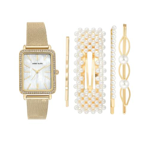 Anne Klein - Montre Anne Klein AK-3642GBST - Montre Femme - Nouvelle Collection