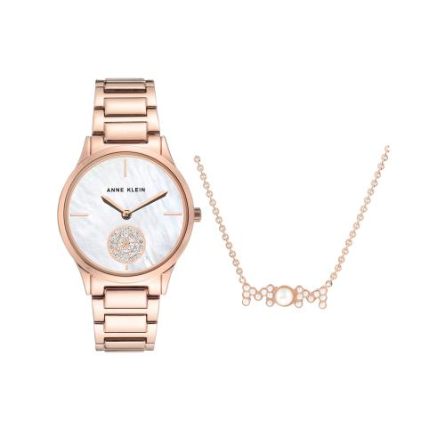 Anne Klein - Montre Anne Klein AK-3674RGST - Montre Femme - Nouvelle Collection