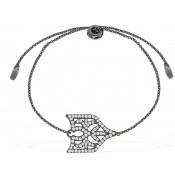 Bracelet Gotique Strass Blancs - APM Monaco