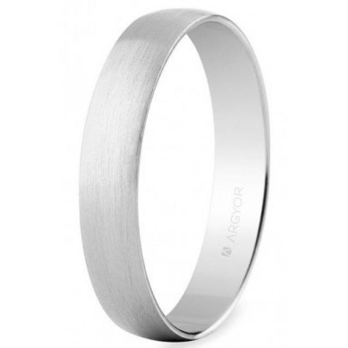 Bague ARGYOR 5B403 - Alliance Or Blanc / Or 750/1000 Mixte