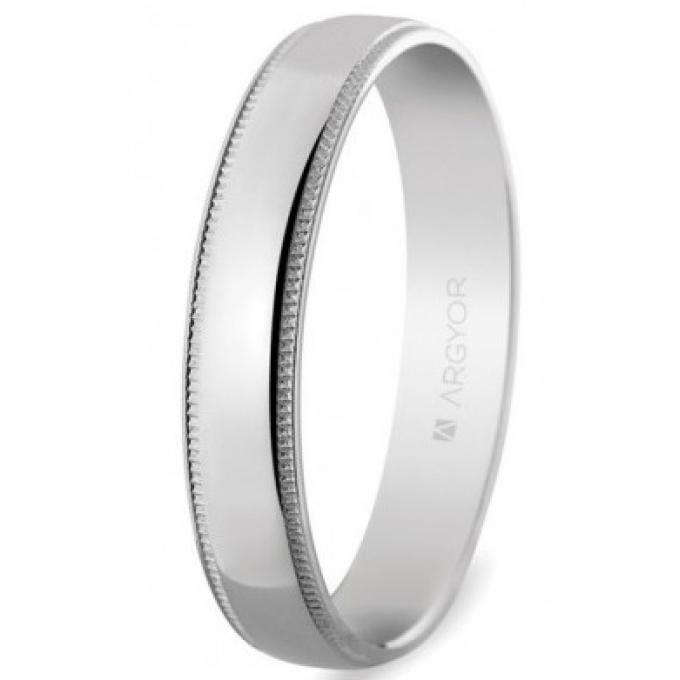 Bague ARGYOR 5B40512 - Alliance Or Blanc / Or 750/1000 Mixte