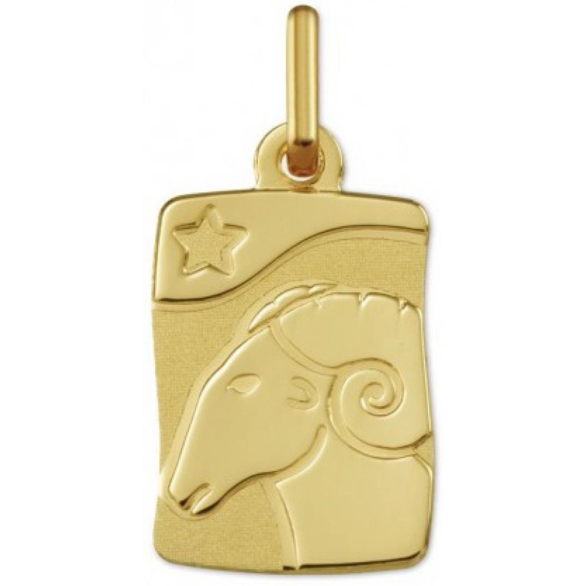 Pendentif Argyor 22200-ARI - Pendentif Or Jaune Signe du Zodiaque H.15 cm