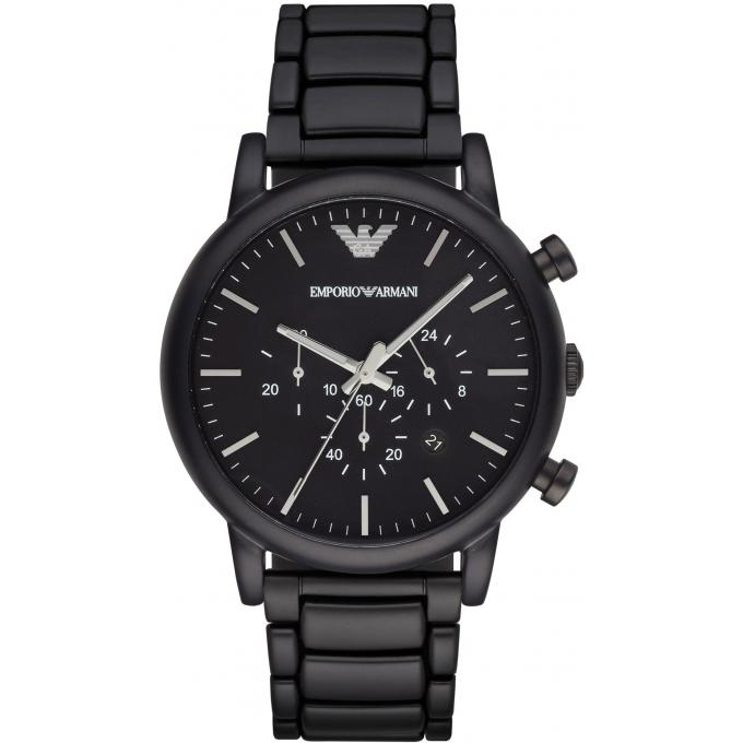 montre emporio armani ar1895 montre ronde noire homme sur bijourama montre homme pas cher en. Black Bedroom Furniture Sets. Home Design Ideas