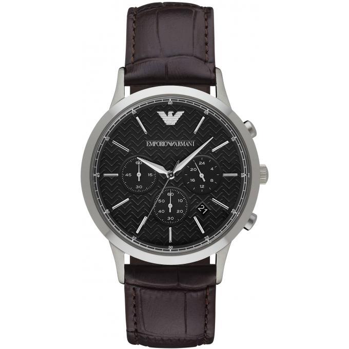 Montre emporio armani ar2482 montre acier marron homme - Montre emporio armani homme pas cher ...