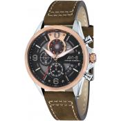 Avi-8 - Montre Avi-8 AV-4051-01 - Montre Homme Marron