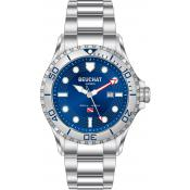 Montre Beuchat Bleue Luminescente BEU0092-2 - Femme