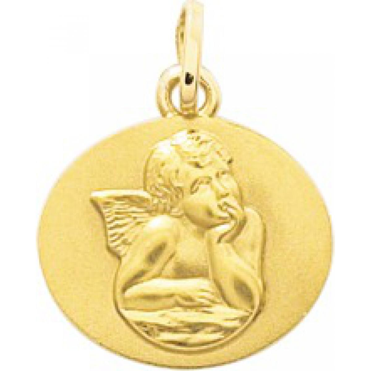 Médaille ange or 750/1000 jaune (18K)