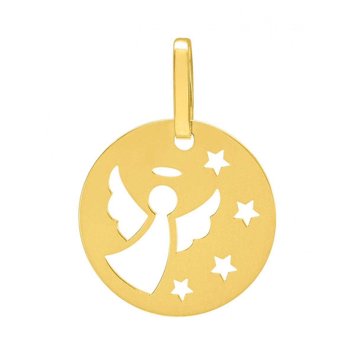 Médaille ange Or 375 jaune (9K)