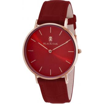 Black Oak - Montre Black Oak BX8300R-819 - Montre Rouge Femme