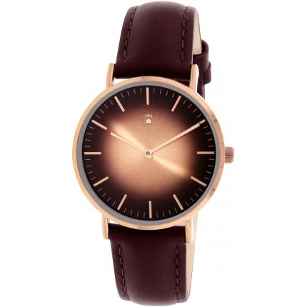 Montre Black Oak BX9102R-805 - Montre Cuir Marron Femme