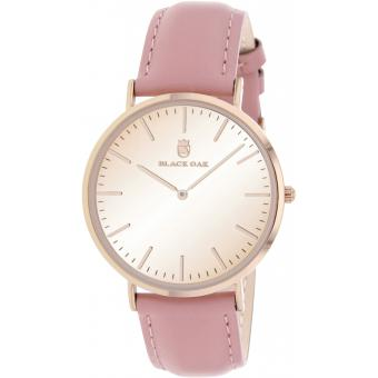 Montre Black Oak BX9300R-812 - Montre Cuir Rose Femme