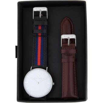 Montre Black Oak BX58904SET-141 - Montre Cuir bleu Homme