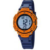 Montre Calypso Bleue Chronographe K5669-4 - Bleu