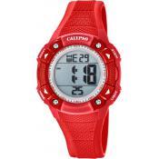 Montre Calypso Chronographe Rouge K5728-3 - Femme