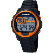 Montre Calypso K5667-4 - Montre Chronographe Orange Homme