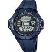 Montre Calypso Chronographe Bleue K5689-2 - Chronographe