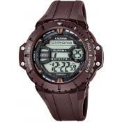 Montre Calypso Chronographe Marron K5689-3 - Chronographe